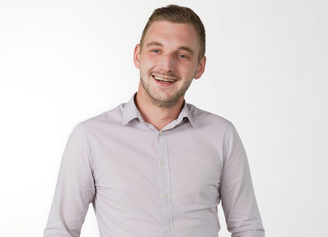 Thomas, étudiant et adhérent à la Mutuelle Just