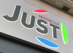 Logo de la Mutuelle Just