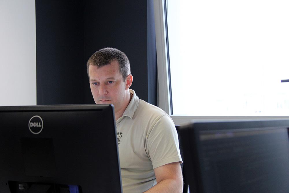Frédéric, développeur informatique chez Mutuelle Just