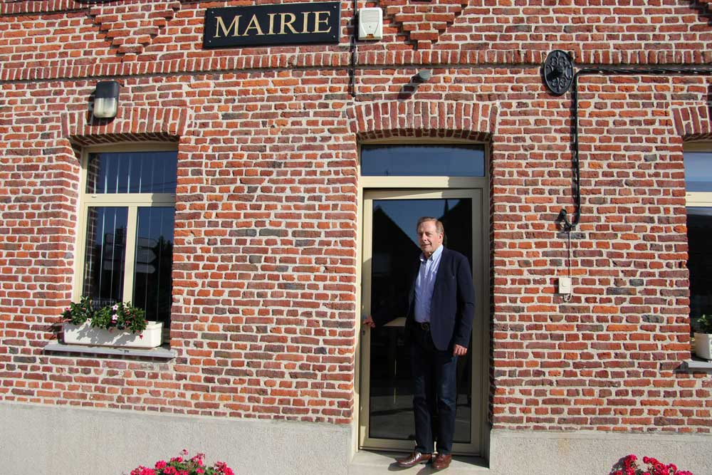 Yvan Bruniau, Maire de Bermerain, village partenaire de la Mutuelle Just