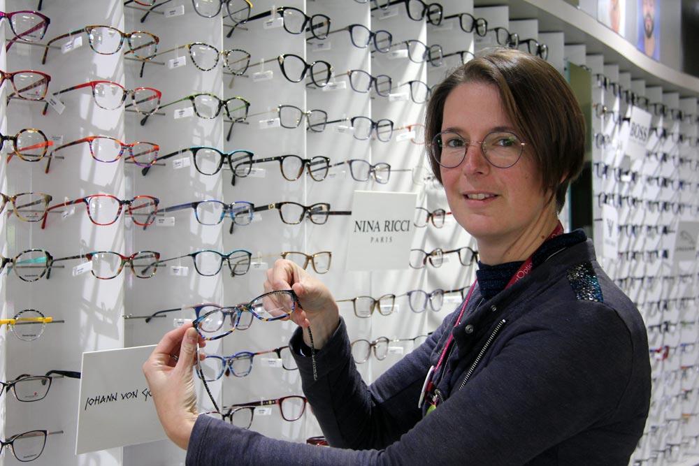 Hélène, experte Just'Optique