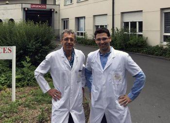 Dr. Olivier Brimont et du Dr. Zouheir Souissi, cardiologues à la Polyclinique Vauban